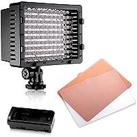 NEEWER CN-126 LED ビデオライト 126球のLEDを搭載 カメラ&ビデオカメラ用 電気スタンド、工業用ランプ、停電ライトなどとして使用可能
