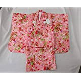 ひな人形 桃の節句 かわいい被布コートセット ピンク色 お祝い着6点