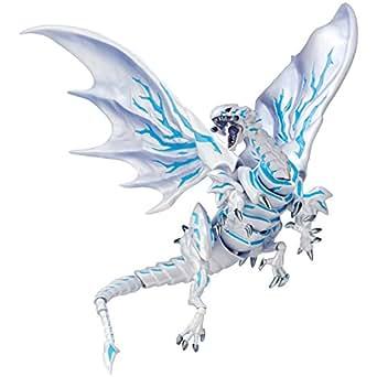 Vulcanlog 013 遊☆戯☆王リボ ブルーアイズ・オルタナティブ・ホワイト・ドラゴン 青眼の亜白龍 ノンスケールPVC&ABS製塗装済み可動フィギュア