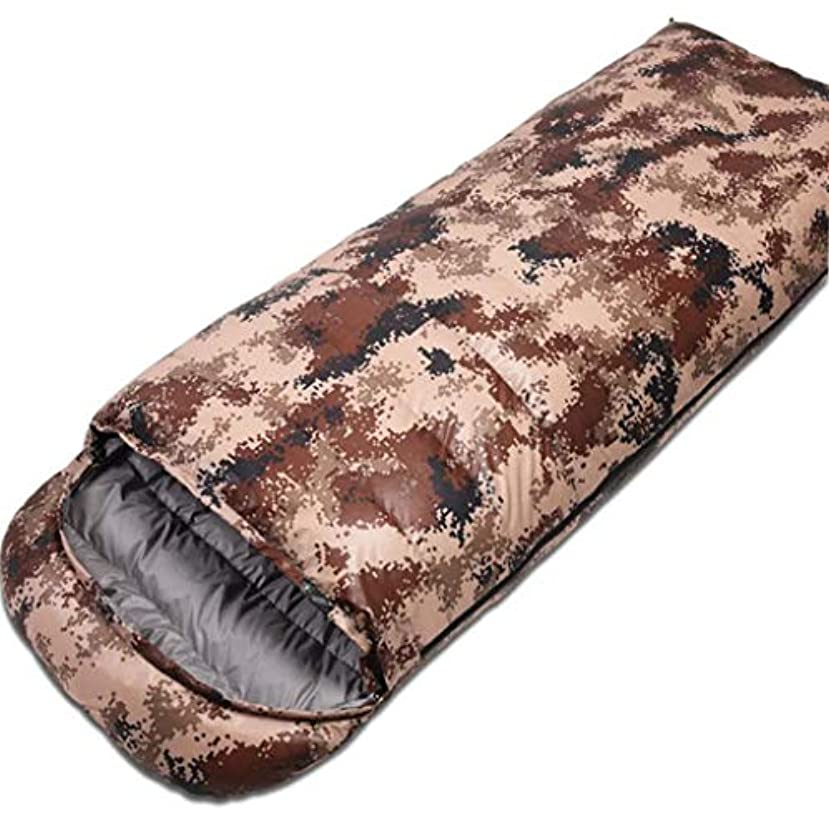 謎傀儡記者冬の寝袋屋外キャンプハイキングに適したポータブル寝袋