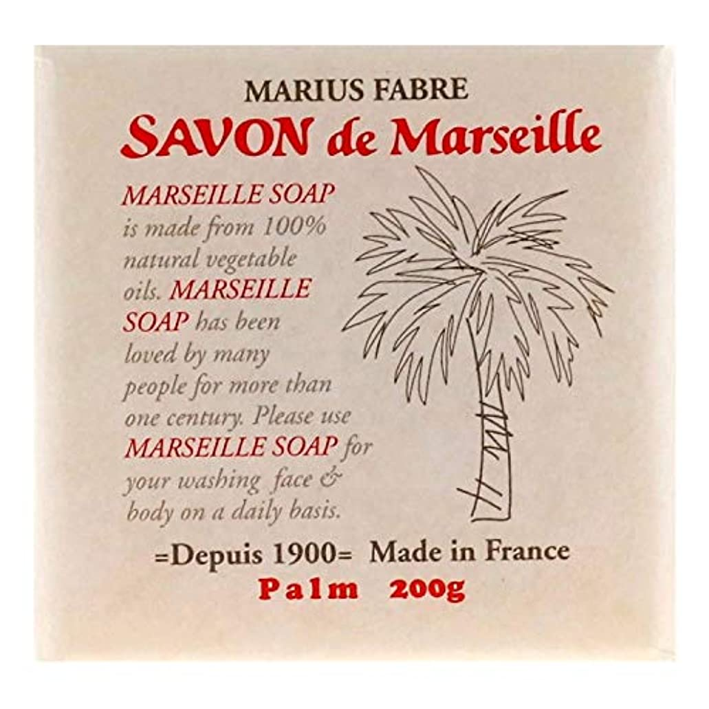 注釈を付ける田舎日サボンドマルセイユ 無香料 パーム 200g