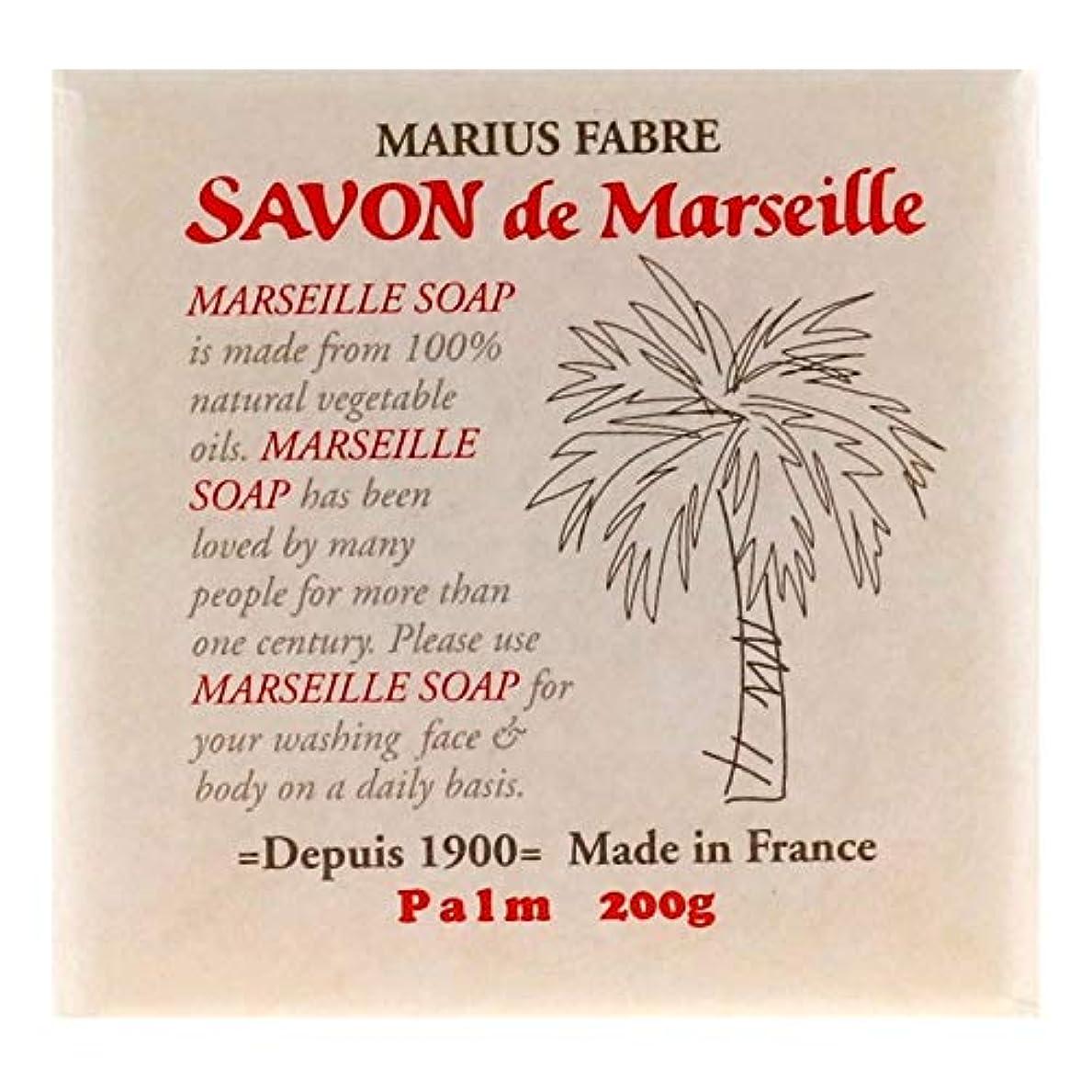 週末最も注釈サボンドマルセイユ 無香料 パーム 200g