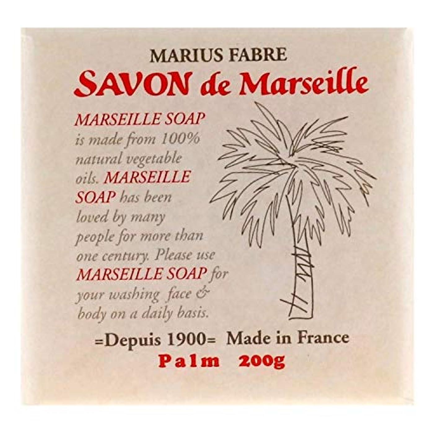 差警告する冷酷なサボンドマルセイユ 無香料 パーム 200g