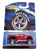 2015 Hot Wheels Heritage Real Riders Series 12/18 - Chevy Silverado (Red) [並行輸入品]