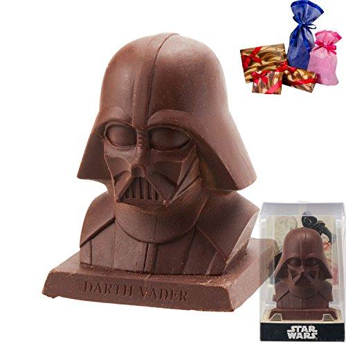 [ラッピング済み] スターウォーズ ダース・ベイダー 3D チョコレート STARWARS グッズ バレンタイン ギフト (ブラック)