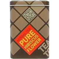 Tea total (ティートータル) / ハイビスカスティー 100g入り缶 ニュージーランド産 (ハーブティー / フレーバーティー  / ノンカフェイン) 【並行輸入品】