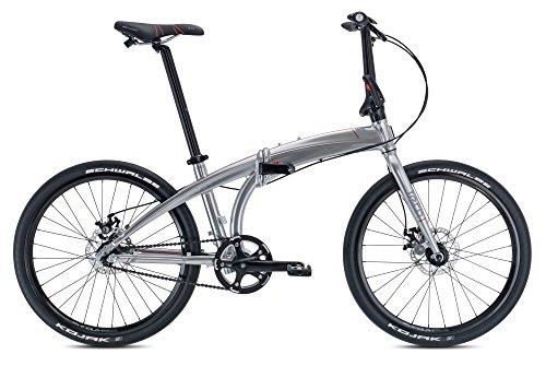 tern(ターン) Eclipse Uno シングルスピード 折りたたみ自転車 2017年モデル 24インチ クローム/グレー 16ECUNOCHGY