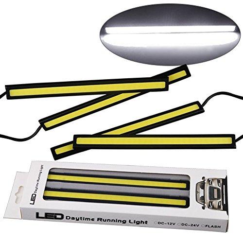超薄型 面発光LEDプレートデイライト バーライト パネルライト イルミ フォグランプ 汎用 デイラ...