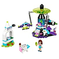 LEGO Friends 41128 Amusement Park Space Ride Building Kit (195 Piece) by LEGO
