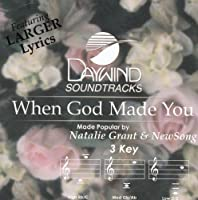 When God Made You [Accompaniment/Performance Track]【CD】 [並行輸入品]