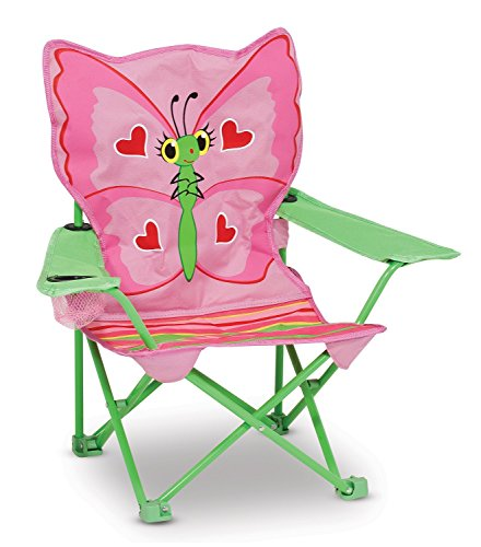 High Quality Sunny Patch Bella Butterfly Outdoor Folding Lawn and Camping Chair