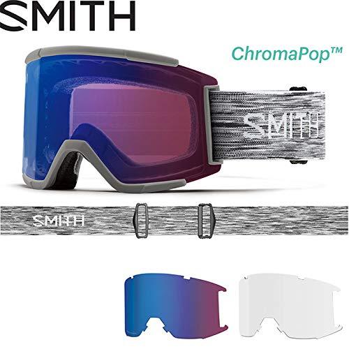 18-19 SMITH スミス ゴーグル Squad XL スカッドエックスエル Cloudgrey [010250392] CHROMAPOP 調光 JAPAN FIT アジアンフィット 日本正規品