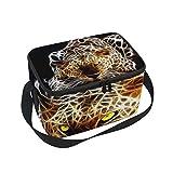 "Lunch Bag American Eskimo Dog カスタム レディース 断熱ランチトート ジッパー付き キッズランチボックス 10"" x 7"" x 6"" g7411522p208c242s343"
