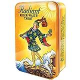 ラディアント ライダー ウェイト タロット 缶入り&ベルベットバッグ【タロットカードとのバッグセット】