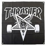 スラッシャー ( THRASHER ) Skategoat Banner バナー ポスター フラッグ 壁掛け インテリア