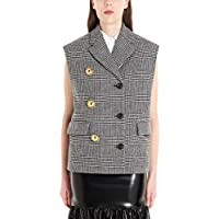Miu Miu Luxury Fashion Womens MH15741L5DF0002 Grey Vest |