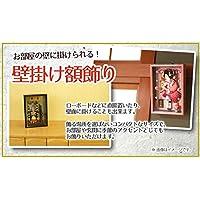 羽子板 コンパクト 壁掛け 額飾り 京彩 会津塗り つるし付き 8号 羽子板飾り 初正月 HGBK-30M-5