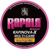 ラパラ ラピノヴァ エックス マルチゲーム ピンク 100m PEライン