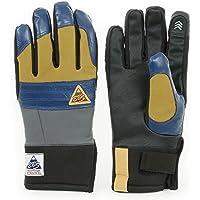 eb's (エビス) グローブ HIGH FIVE BLUE/KHAKI Mサイズ ハイファイブ 5本指 手袋 スノーボード