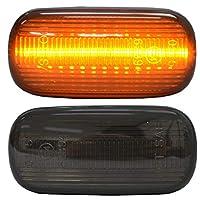 ファクトリーダイレクト LEDサイドマーカー ll-ho-smb-sm08 スモークレンズ Freed spike フリードスパイク(GB3.4系)※G.Cグレードのみ LEDサイドマーカー LEDウインカー 純正交換 ホンダ HONDA