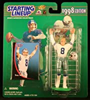 TROY AIKMAN/DALLAS COWBOYS 1998 NFL Starting Lineup Action Figure & Exclusive NFL Collector Trading Card [並行輸入品]