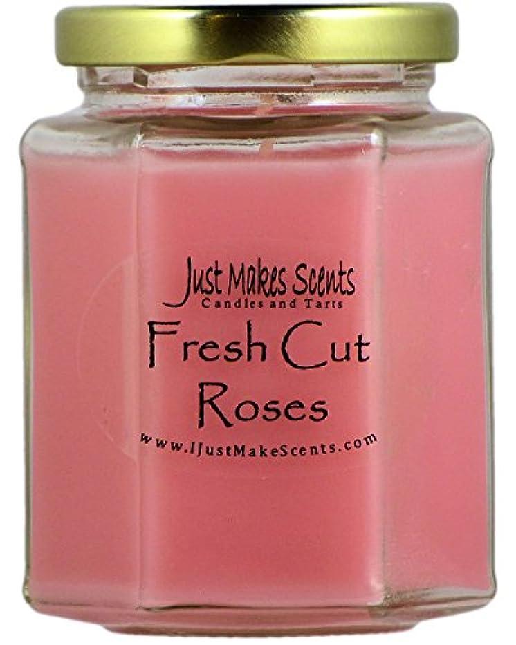 最少検出するラッシュFresh Cut Roses ( Compare to Yankee Candle )香りつきBlended Soy Candle by Just Makes Scents