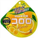 味覚糖 コロロ つぶつぶレモン 40g×6袋