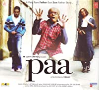 Paa (New Hindi Music CD) by Ilaiyaraaja (2009-05-03)