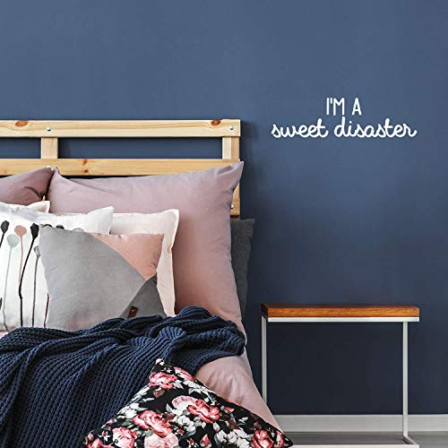 Vinyl Wall Art Decal - I'm A Sweet Disaster - 6