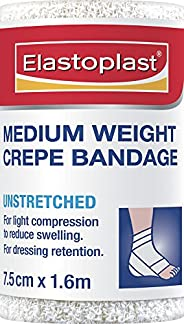 Elastoplast  - Crepe Bandage - medium weight 7.5cm x 1.6m