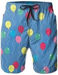 風船 メンズ サーフパンツ 水陸両用 水着 海パン ビーチパンツ 短パン ショーツ ショートパンツ 大きいサイズ ハワイ風 アロハ 大人気 おしゃれ 通気 速乾