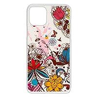 WHITENUTS iPhone11 Pro ケース クリア ハード プリント パターンD (wn-452) スマホケース アイフォンイレブン プロ スリム 薄型 カバー スマホカバー WN-PR3654672