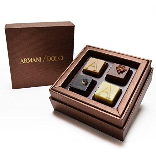 ARMANI DOLCI(アルマーニ ドルチ) アルマーニドルチ チョコレート ブロンズボックス プラリネ 4個入り