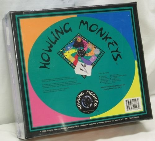 Howling Monkeys Board Game - Learn How to Communicate Better in Your Jungle [並行輸入品]