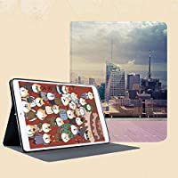 IPad mini1 mini2 mini3 ケース 手帳型 兼用型 IPad mini 1 / 2 / 3 カバー オートスリープ スタンド2段式の溝で自由に角度調節ルーフアパートメントバルコニーからニューヨーク市アメリカ合衆国の風景写真画像