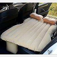 車のインフレータブルマットレスエアマットレス車のショックベッドピクニックベッド旅行のインフレータブルベッド背部シートマットレスユニバーサル車のクッションキャンプエアベッド ( 色 : ベージュ , サイズ さいず : Style 2 )