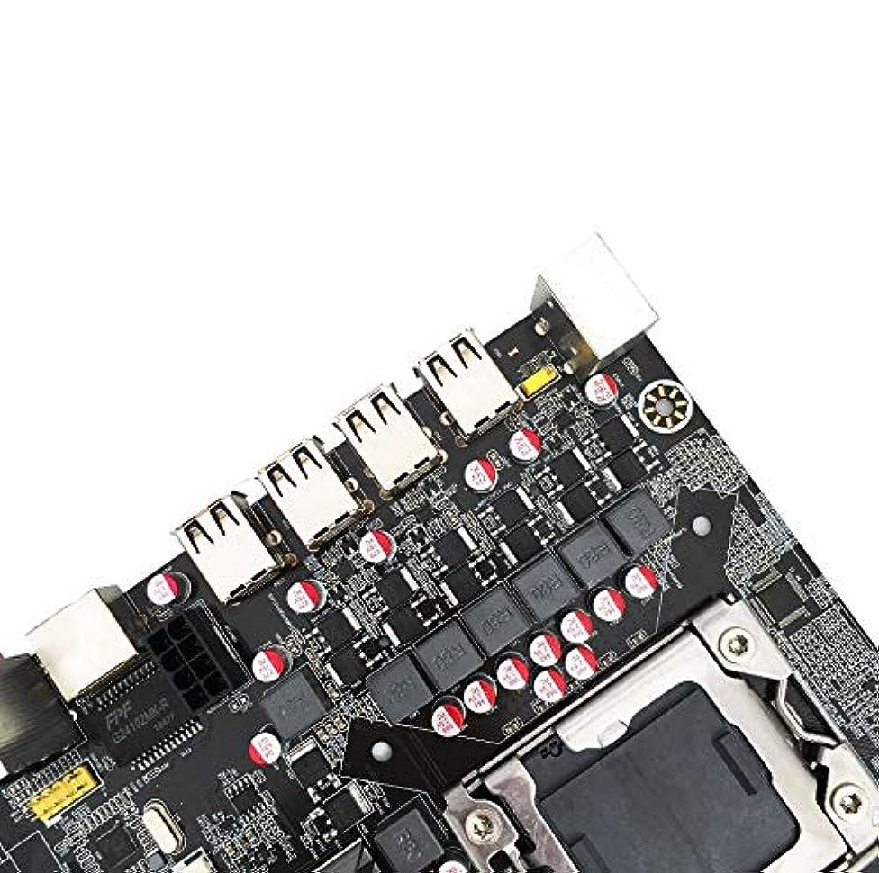 ブランク噴出する後世elegantstunning X58 デスクトップコンピュータ E5-111 LGA1366 マザーボード
