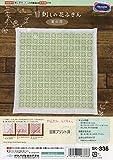 オリムパス製絲 一目刺しキット 花ふきん 菊の花 白 SK-336