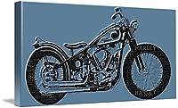 "「Harley - Davidsonと単語ウォールアートプリントby Tony Rubino 32"" x 16"" 5218740_4_can"