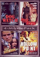 Dog Watch / Face the Evil / High Voltage / Hollow Point (4 Movie Pack)