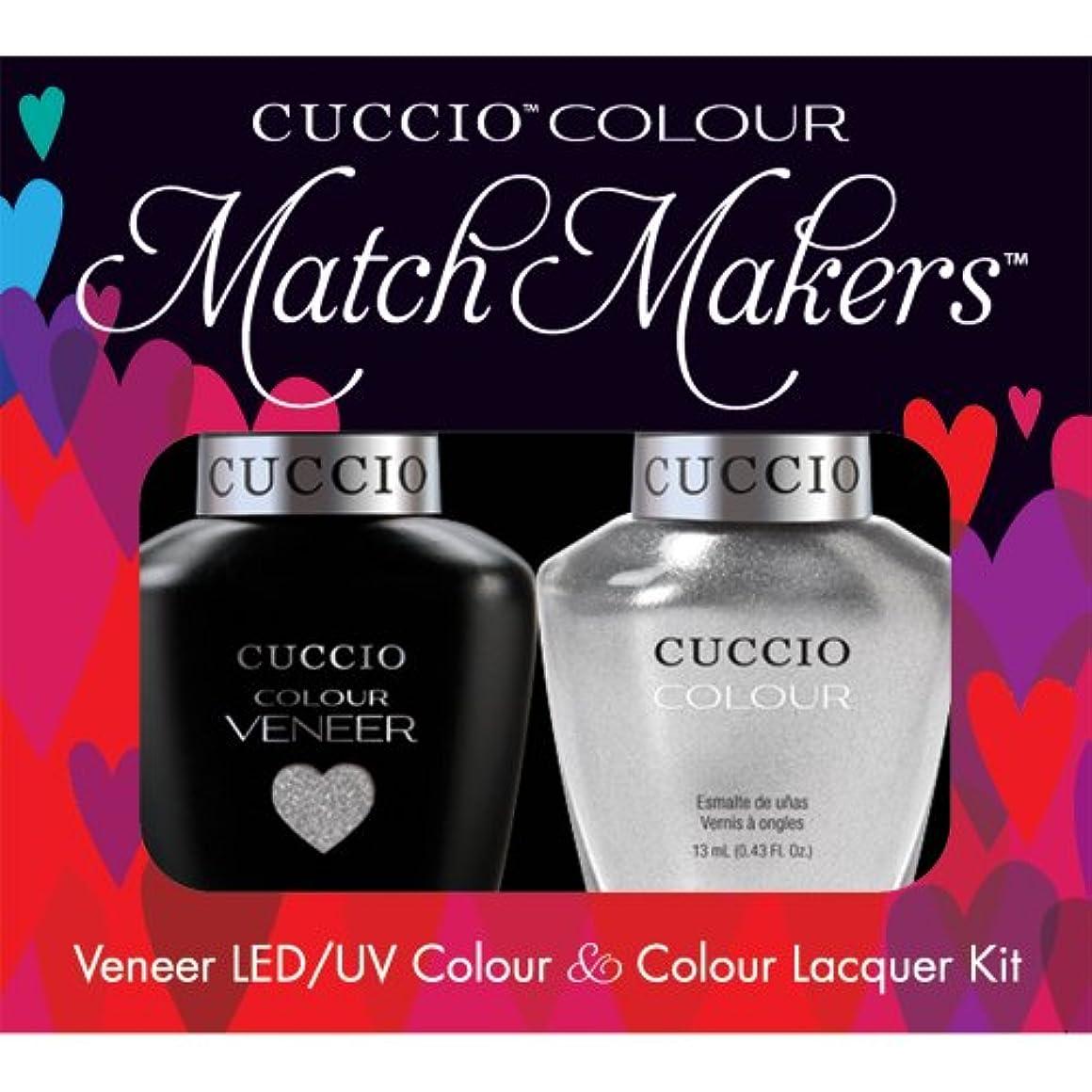 品揃え先見の明同一のCuccio MatchMakers Veneer & Lacquer - Hong Kong Harbor - 0.43oz / 13ml Each