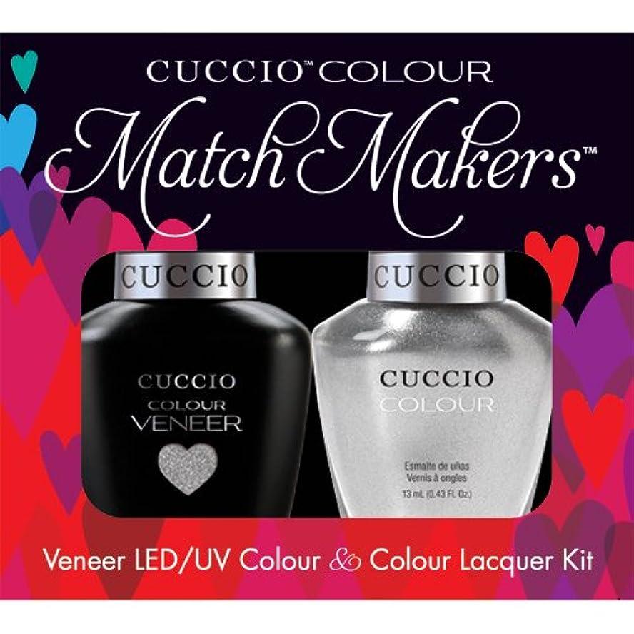 ホスト顎ヘリコプターCuccio MatchMakers Veneer & Lacquer - Hong Kong Harbor - 0.43oz / 13ml Each