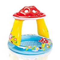 Intex Mushroom baby Pool 40 x 35 for Ages 1-3 [並行輸入品]