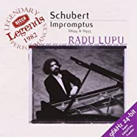 Schubert: Impromptus D 899 & D 935 / Radu Lupu (1999-08-10)