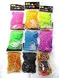 【560kick-toy】 ルーム バンド ジェリー タイプ 600本 9色 5400本 セット (ジェリータイプ9色)