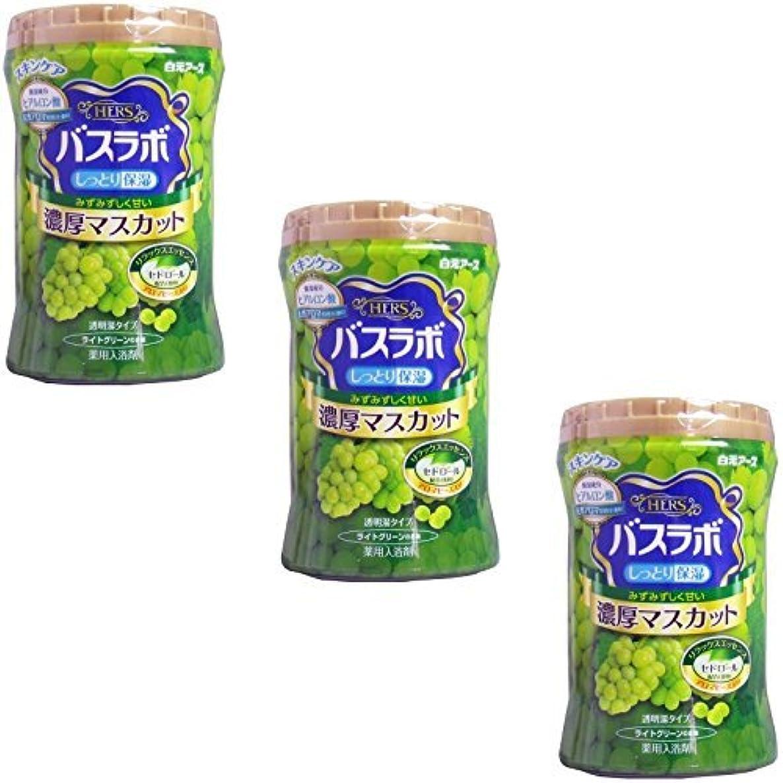 ミルク批判オーバーヘッド【まとめ買い】バスラボボトル濃厚マスカットの香り【×3個】