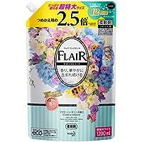 【大容量】フレアフレグランス 柔軟剤 フラワー&ハーモニーの香り 詰め替え 1200ml
