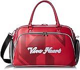 (ビバハート)VIVA HEART ゴルフ雑貨メンズ ボストンバッグ 017-84800 017-84800 63 レッド 50