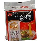 農心 カムジャ麺 (じゃがいも麺) 1パック (117g×4袋入り)
