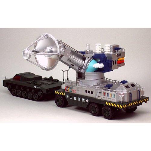 ミラクルハウス 新世紀合金 東宝メカニック 66式メーサー殺獣光線車